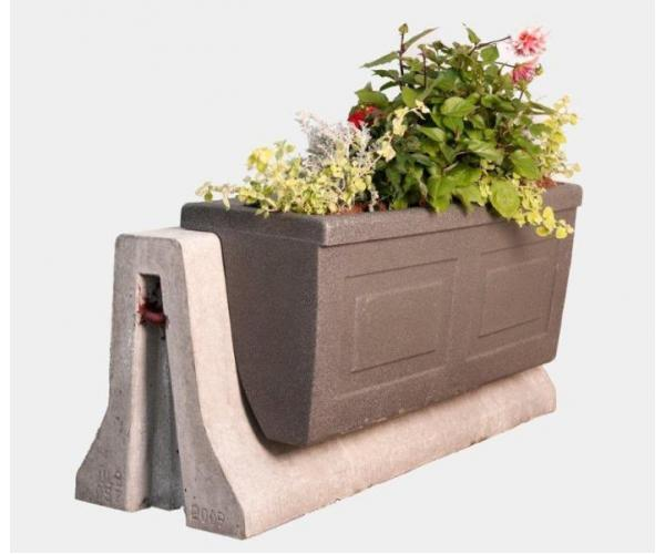 Self-Watering Planter Barrier Style from OCCOutdoors