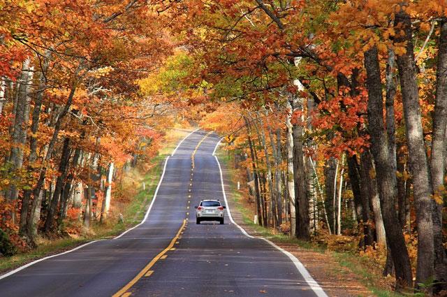 Fall Colors of Copper Harbor, MI