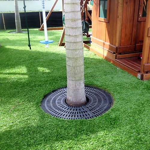 Recycled Plastic Tree Grates from OCC Outdoors