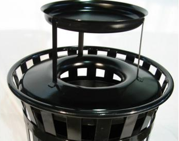 Example of Large Ash Urn Top from OCC Outdoors