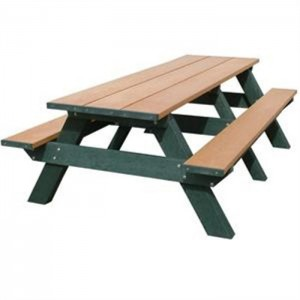 Wood Vs Recycled Plastic Picnic Tables From OCC Outdoors - Cost of wooden picnic table