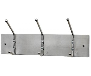 "Garment Rack, Steel and Satin Aluminum, 18"" from OCCOutdoors"