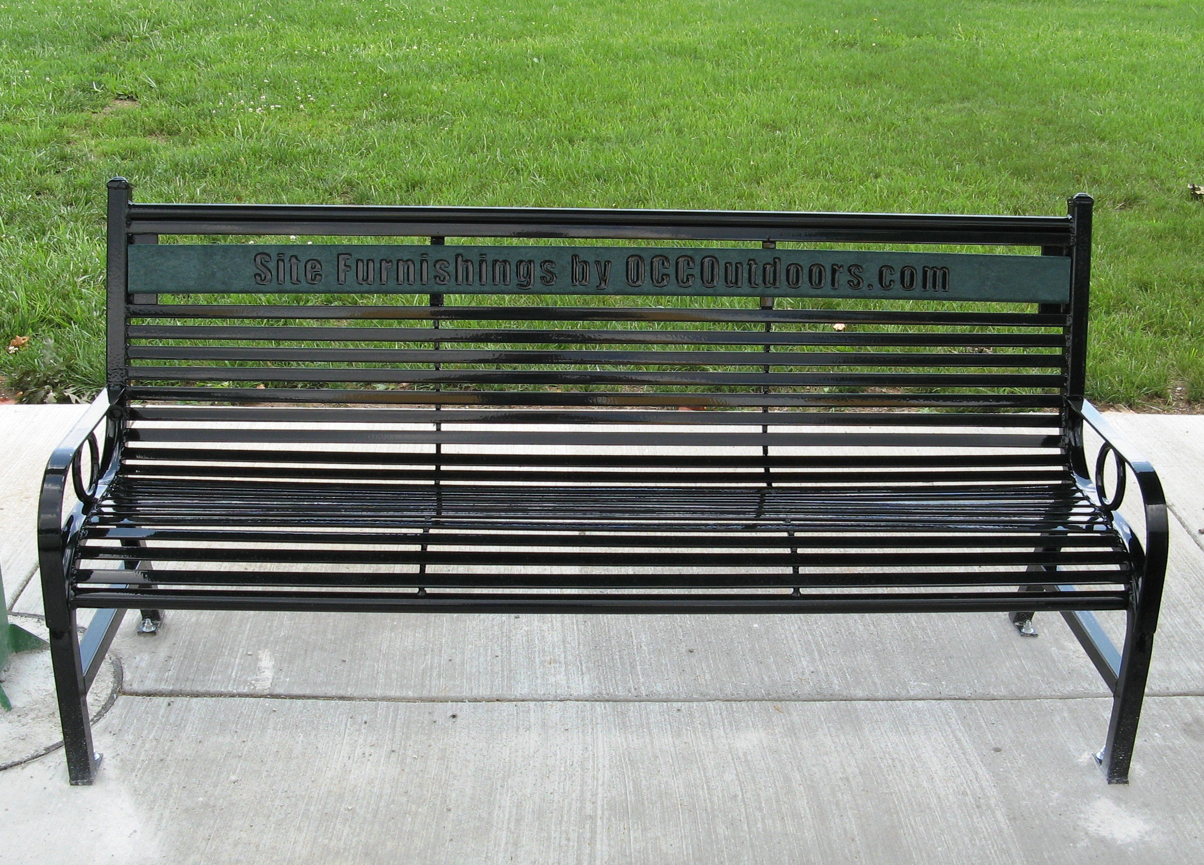 State Fair Memorial Park Bench from OCC Outdoors