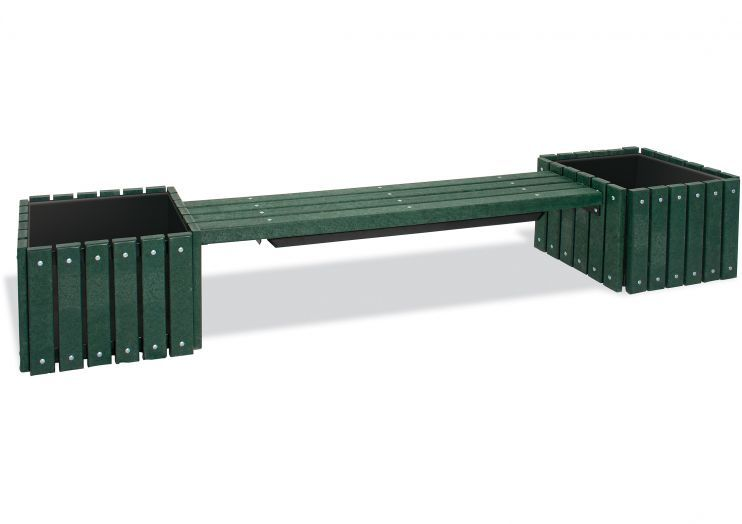 Planters benches