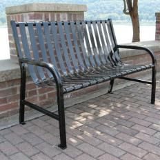 Steel Park Benches