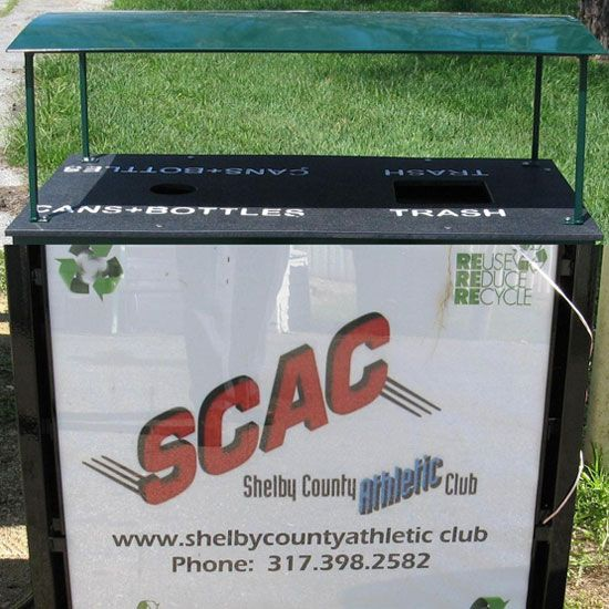 Advertising Promotional Recycling Bins