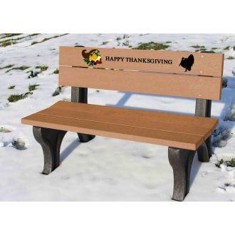Holiday Bench