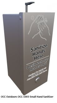 Add-On/Wall Mount Hand Sanitizer Station