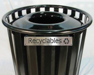 55-Gallon Recycle Bin