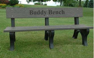 4 Foot Deluxe Park Bench