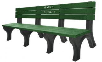 4 Foot Monarque Memorial Park Bench