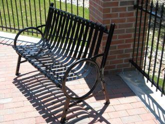 4-foot Hoop Park Bench