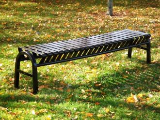 5 Foot Backless Bus Stop Bench