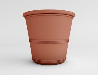 """Solid Color Barrel Vase Planters 25"""""""