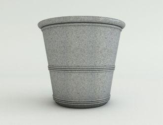 """Self-Watering Barrel Vase Planters Granite Colors 21"""""""