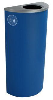 Indoor Recycling & Waste Bin - Spectrum Slim Ellipse Single-Stream 8 Gallon Recycling and Waste Bin