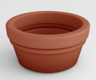 "Bowl Vases Planters Solid Colors 15"" thru 32"""