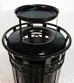 36-Gallon Ornamental Ash and Trash Receptacle