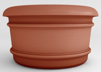 """Self-Watering Californian Round Planters Solid Colors 23"""" thru 60"""""""
