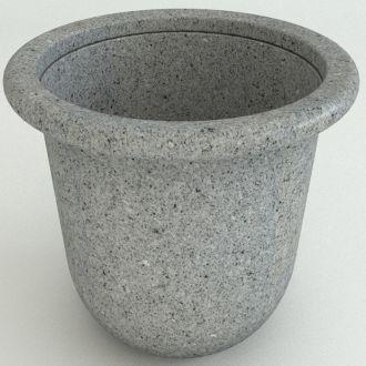 "Contemporary Planters Granite Colors 17"" thru 60"""