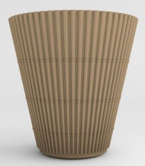 """Bamboo Planter 23"""" Solid Colors"""
