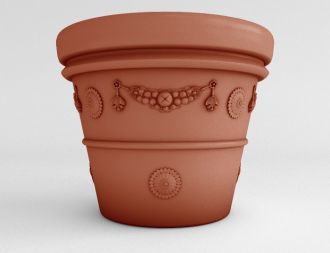 "Garland Vase Planters Solid Colors 26"" thru 42"""