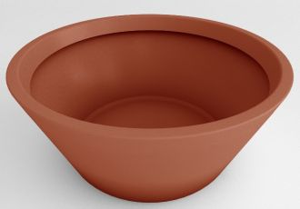 Japanese Bowl Planter Solid Colors