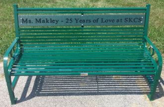 6 Foot Broadway Promotional Bench
