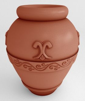"Self-Watering Oil Jar Planters Solid Colors 20"" & 33"""