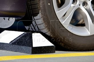 Parking-Curbs-6-foot-Black-and-White-with-Anchors