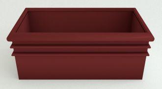 "Rectangular Planters Solid Colors 19.5"" thru 38"""