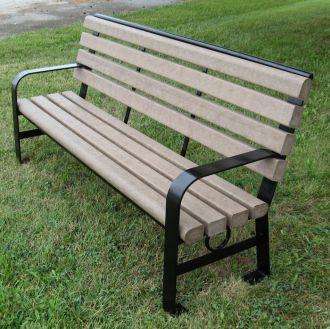 Green Brook Park Bench