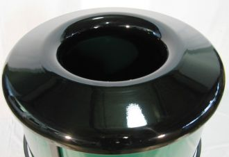 Small Steel Trash Receptacle Replacement Top 21 1/2 inch