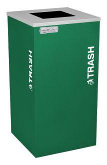 24-Gallon Modular Square Trash Bin