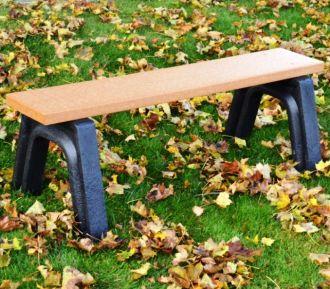 4 Foot Landmark Backless Bench