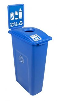 Waste Watcher 20 Gallon 27 Inch Tall Recycle Station
