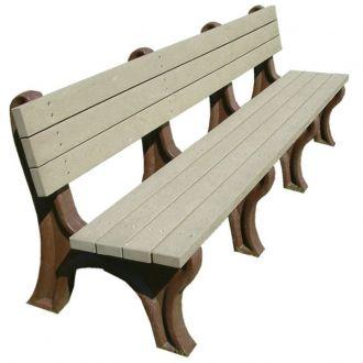 8 Foot Deluxe Park Bench