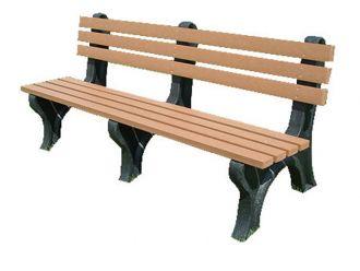 6 Foot EconoMizer Plastic Park Bench