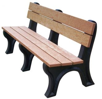 6 Foot EconoMizer Traditional Park Bench