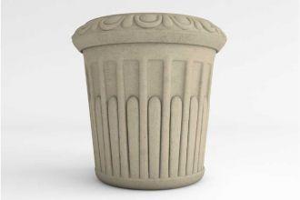 Grecian Round Planter solid colors