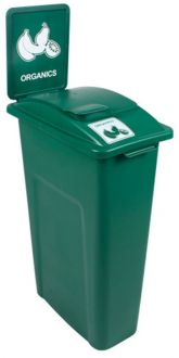 Waste Watcher 23 Gallon 30 Inch Tall Recycle Station