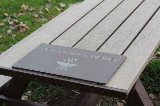 Hot Plate for Polly picnic tables