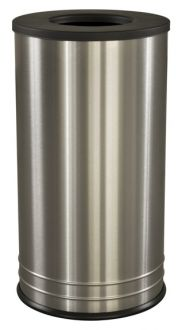 Interior Trash Receptacle, Stainless Steel