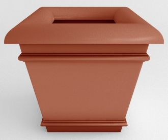 """Self-Watering Californian Square Planters Solid Colors 23"""" and 35"""""""