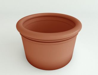 """Self-Watering Straight Sided Cylinder Planter Solid Colors 18"""" thru 33"""""""