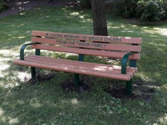 Greenwood Memorial Park Bench