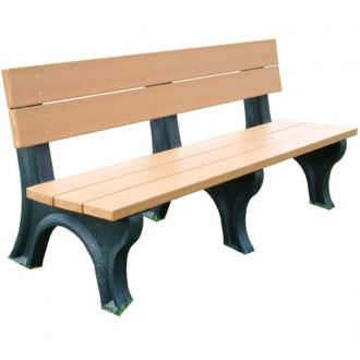 6 Foot Traditional Park Bench