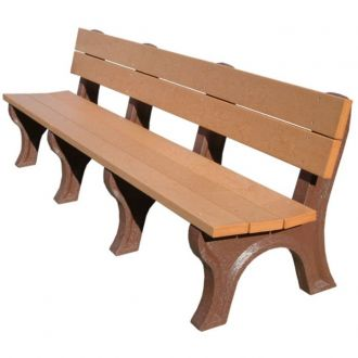 8 Foot Economizer Traditional Park Bench