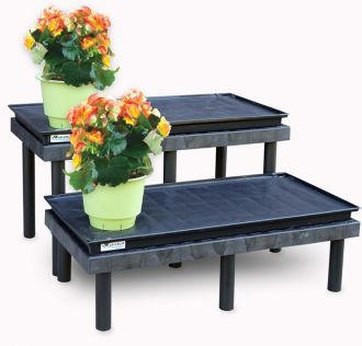 2 Shelf Plant Stand