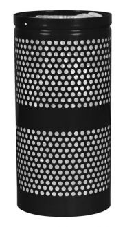 20-Gallon Perforated Trash Receptacle